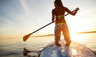 Paddleboard Rental and Lessons in Nigran, Spain