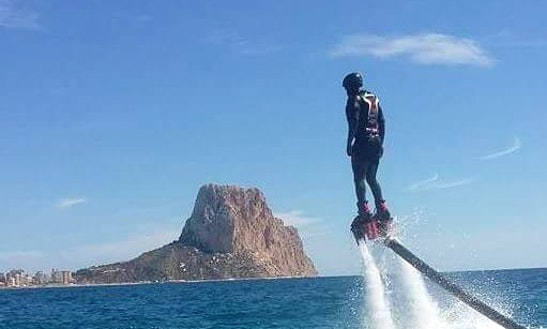 Fly Board Rental In Calp, Spain