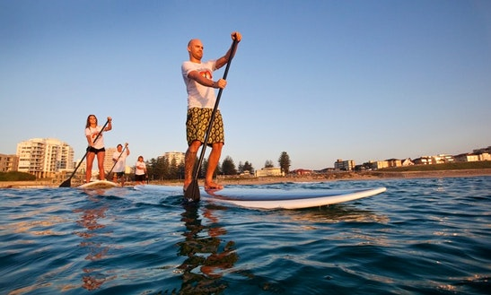 Stand Up Paddleboard Lesson & Rental In Cronulla