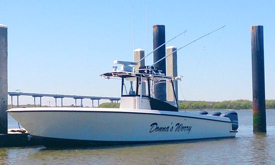 36ft Contender Center Console Fishing Charter In Mount Pleasant, South Carolina