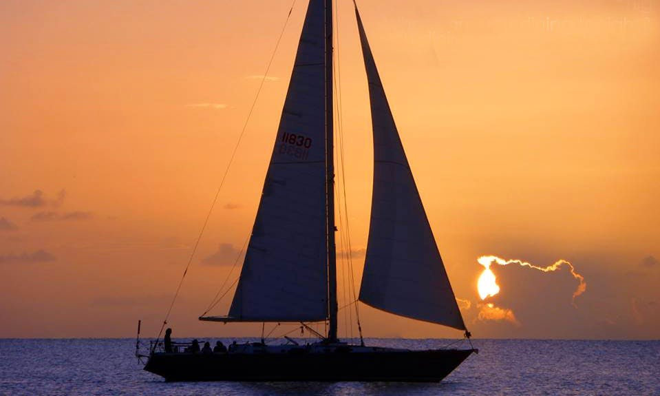 Sunset Dinner Sail In Frederiksted