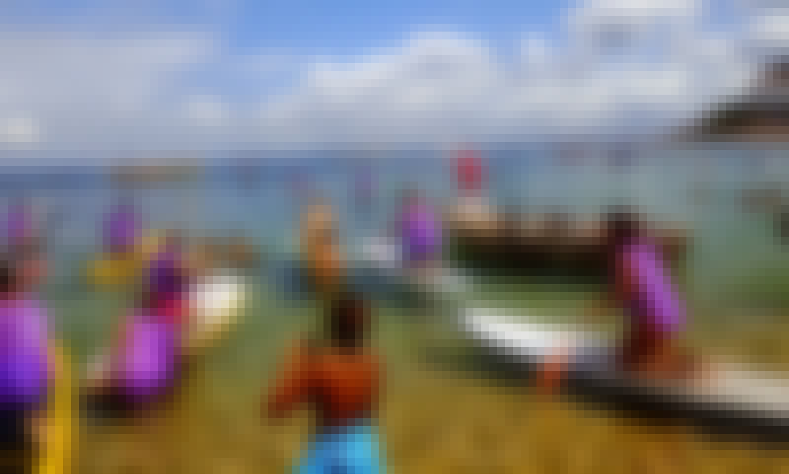 Paddleboard Class in Praia de Jaguaribe, Salvador