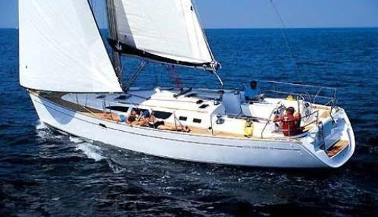 Sun Odyssey 43 Sailing Monohull Charter In Arzon, France