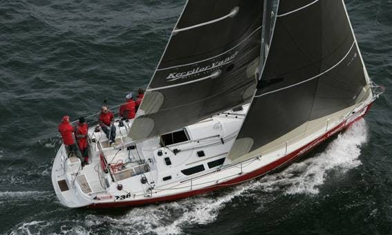 Sun Fast 40.3 Sailing Monohull Charter in Arzon, France