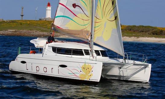 Lipari 41 Sailing Catamaran Charter In Arzon, France