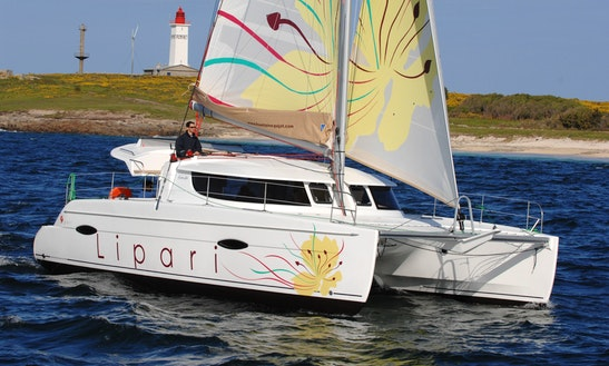 Lipari 41 Sailing Catamaran Charter In Arzon, France