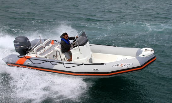 Pro Open 650 Rib Charter In Arzon, France