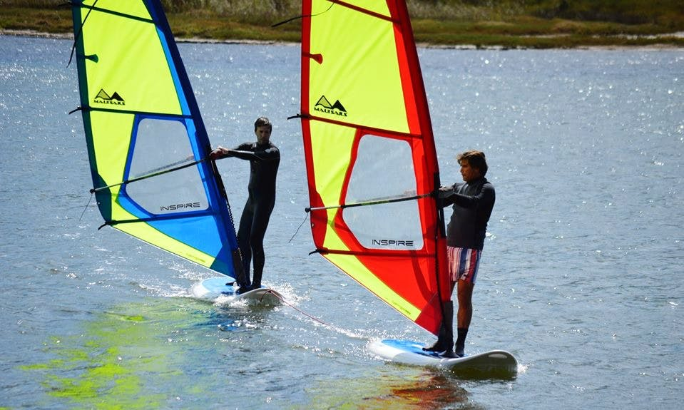 Wind Surfer Lessons in Obidos, Portugal