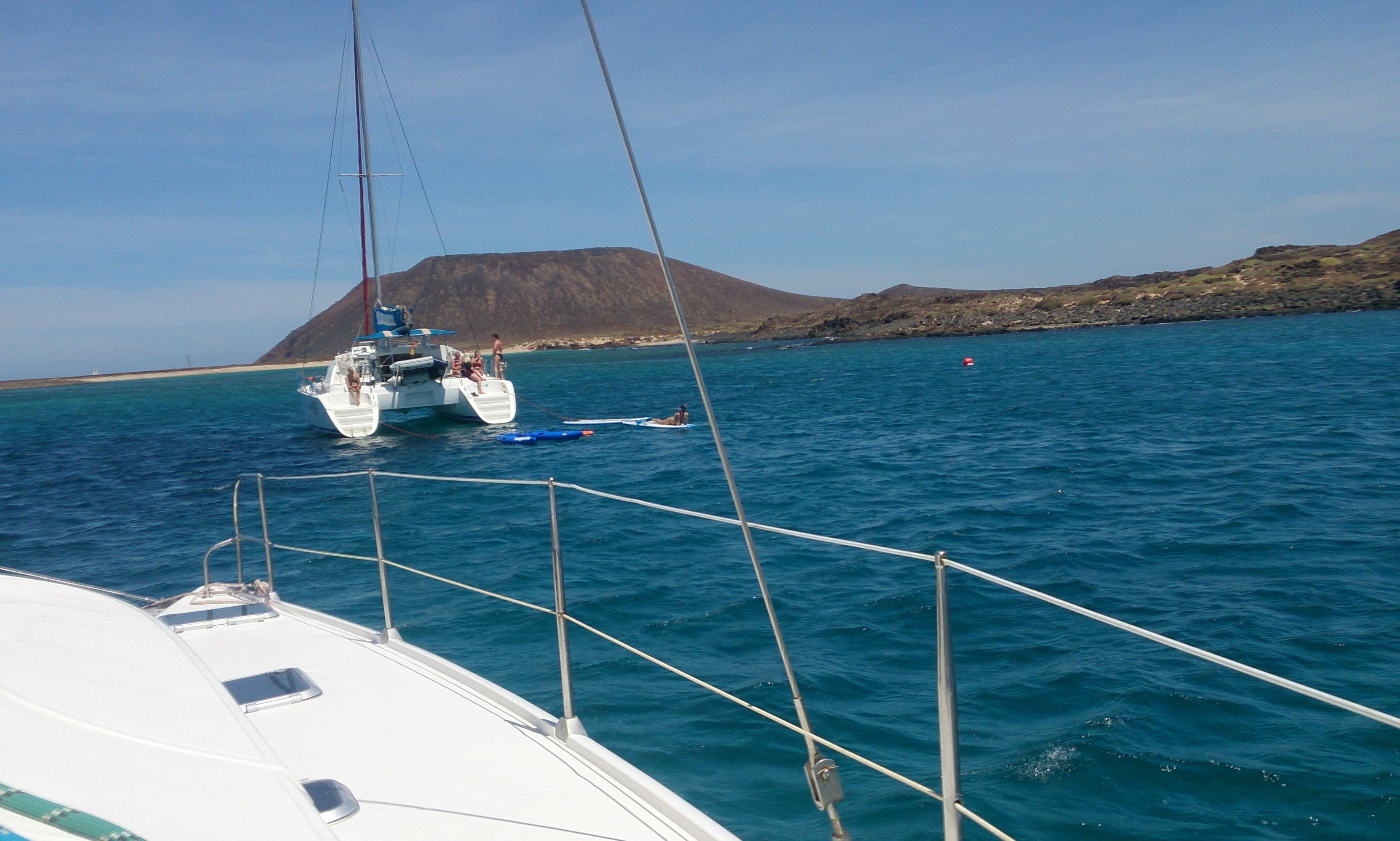 Luxury Sailing Catamaran Charter in Jable, Spain
