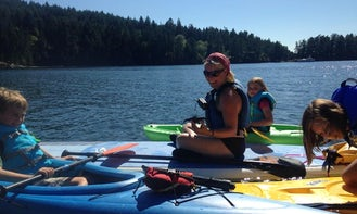 Single Kayak, Paddle Board, Canoe and Laser Sailboat Rentals in Southern Gulf Islands