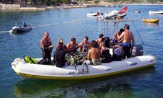 Dive Boat In Pula