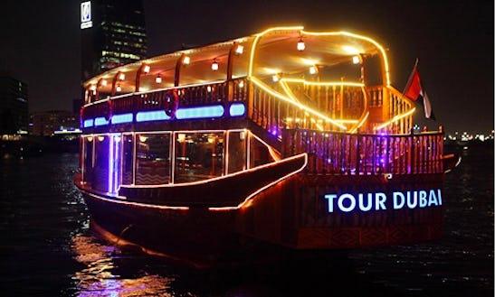61' Tour Dubai Iii Dhow Luxury Cruises In Dubai