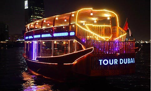 61' Tour Dubai III Dhow Luxury Cruises in Dubai