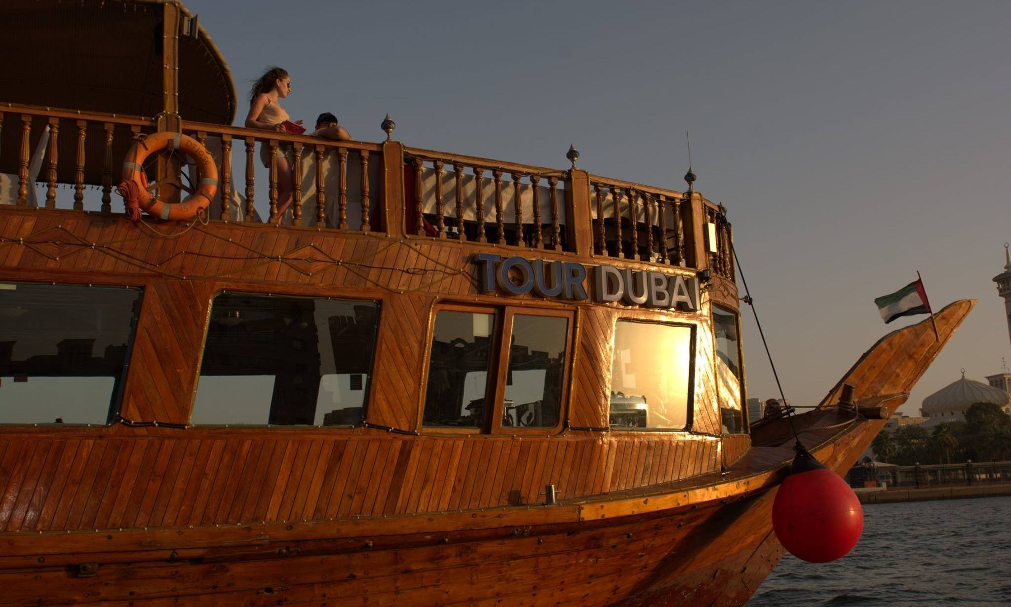 115' Tour Dubai Dhow Luxury Cruises in Dubai