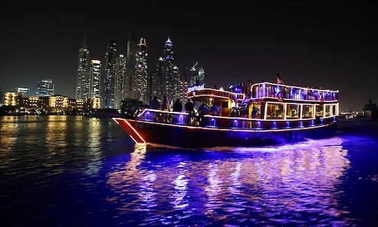 77' Sheikha Boat Dhow Luxury Cruises In Dubai