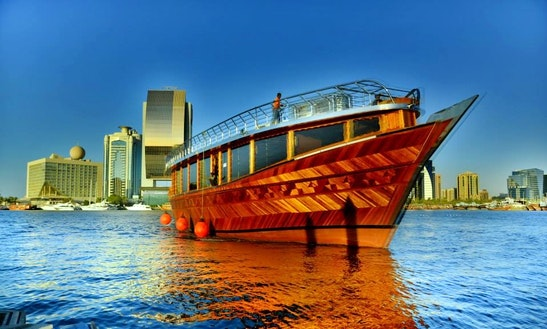 70' Tour Dubai Ii Dhow Luxury Cruises In Dubai