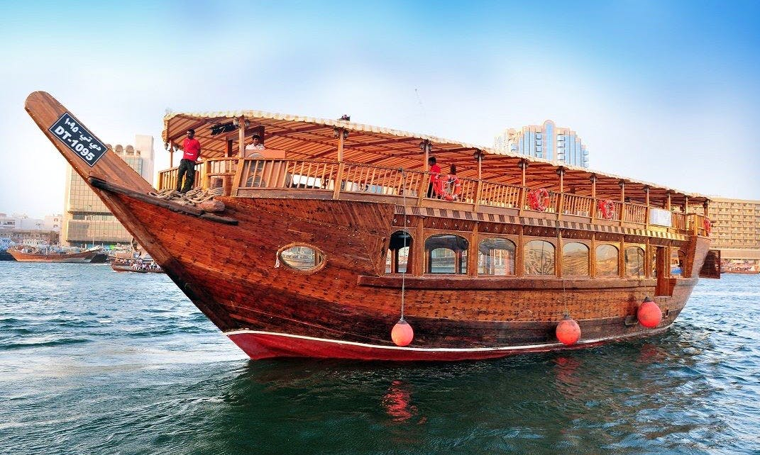 98' Taj Boat Dhow Luxury Cruises in Dubai