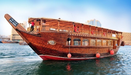98' Taj Boat Dhow Luxury Cruises In Dubai