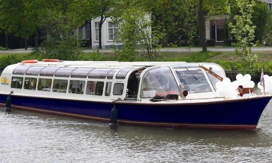 Rent  72' Canal Boat In Maarssen