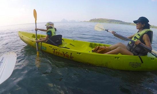 Kayaking In Tambon Pak Nam