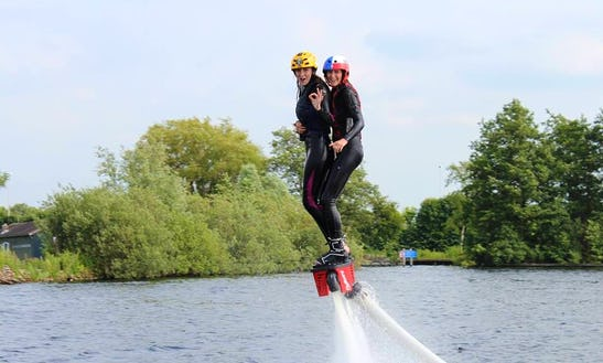 Flyboarding In Vinkeveen