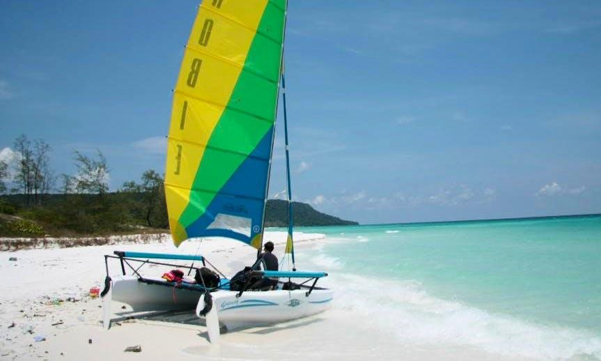 Hobie Catamaran Rental in Krong Preah Sihanouk