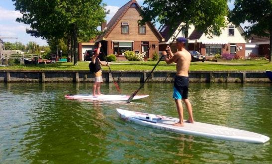 Paddleboard Rental In Makkum, Netherlands