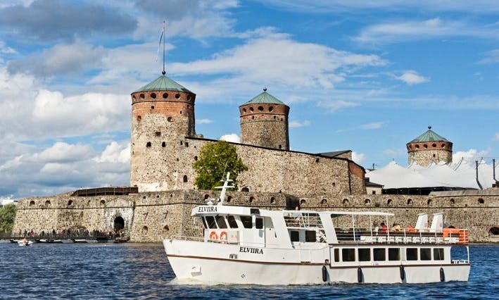 "Private Cruises on ""Elviira"" Boat in Savonlinna, Finland"