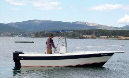 Center Console Boat Rental in Bar Harbor, Maine