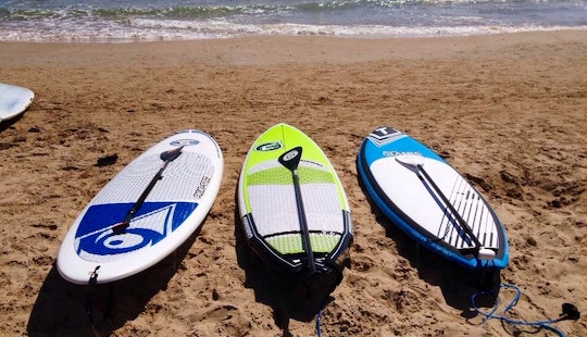 Stand Up Paddleboarding In Tarragona