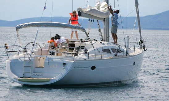 Elan 434 Impression Sailboat Charter And Trips In Almuñécar, Spain