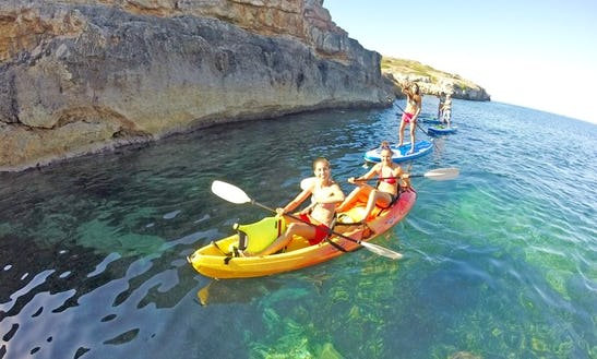Double Kayak Rental In Can Pastilla