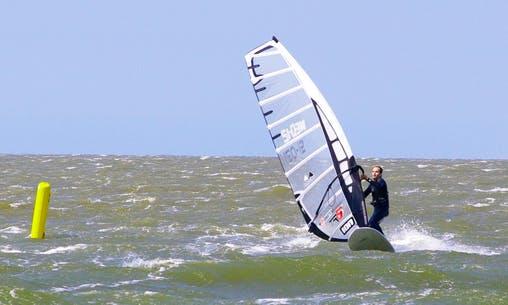 Windsurfing In Katwijk