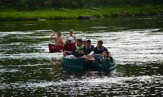 Canoeing On Ivalojoki River