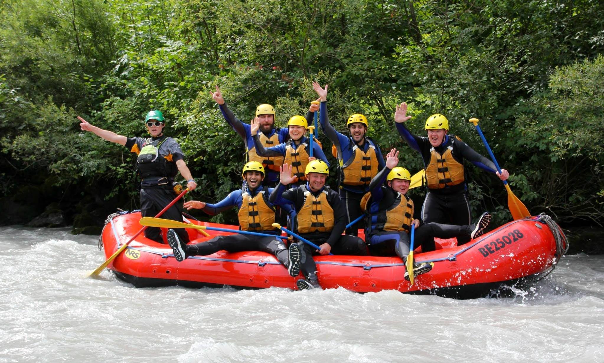 White Water Rafting Trips in Matten bei Interlaken