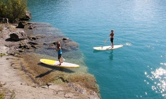 Stand Up Paddleboard Rental & Guided Tours in Unterseen