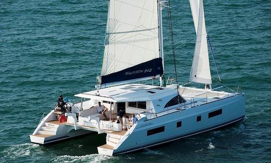 Charter Nautitech 542 Sailing Catamaran In Dénia, Spain