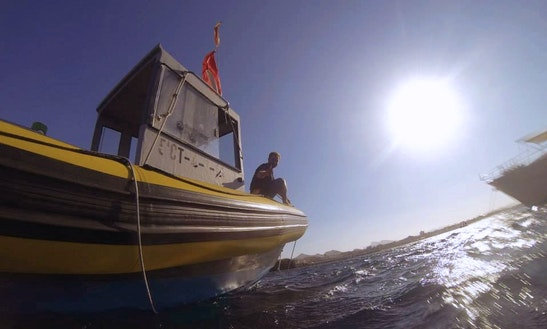 Rent 38ft 'ares' Rib In Cabo De Palos, Spain