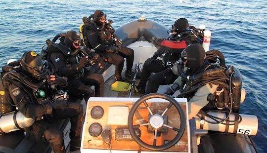 Black Rib Diving Trips & Padi Courses In Cabo De Palos