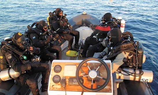 Black Rib Diving Trips & Padi Courses In Cabo De Palos