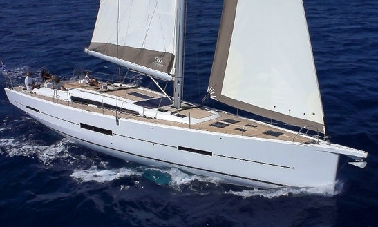 Charter Dufour 560 Sailing Yacht In Spain
