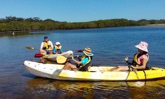Double Kayak Rental in Hawks Nest Tea Gardens