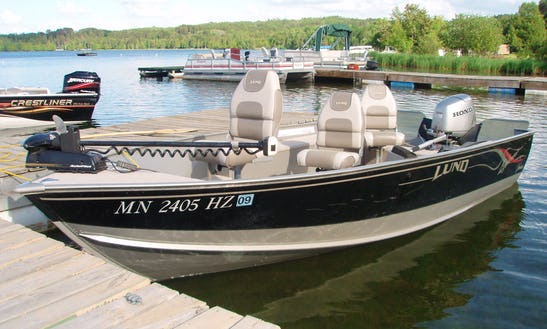16 Ft Aluminum Fishing Boat Rental In Chitek Lake