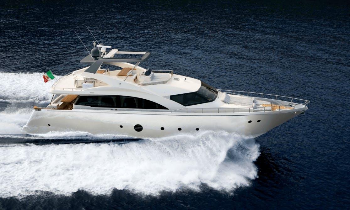 Motor Yacht Rental Aeolian Islands