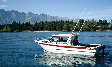 "34' Head Boat ""Chinook"" Fishing Trips in Queenstown"