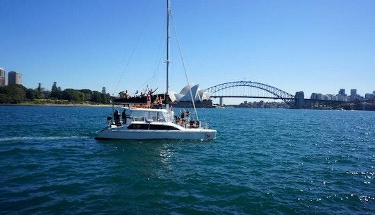 Sail Sydney Harbour On Catamaran Boat