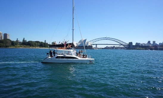 Sail Sydney Harbour On Catamaran Boat