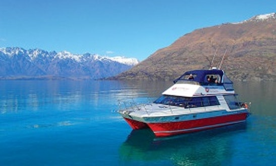 42' Power Catamaran Trips In Queenstown, New Zealand