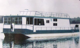 """54ft """"Nomad"""" Houseboat Charter in Sioux Narrows Nestor Falls, Canada"""