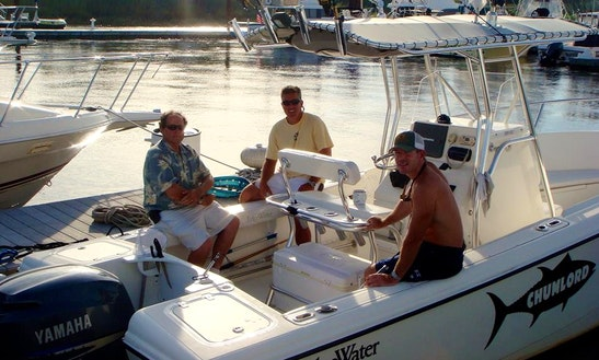 23ft Center Console Boat Charter In Newburyport, Massachusetts
